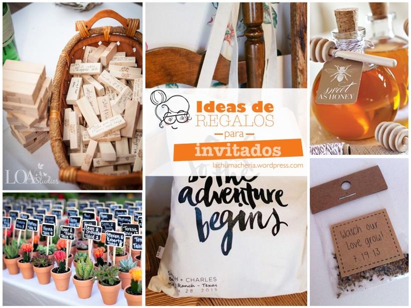 Ideas de regalos para invitados | lachumacheria.wordpress.com